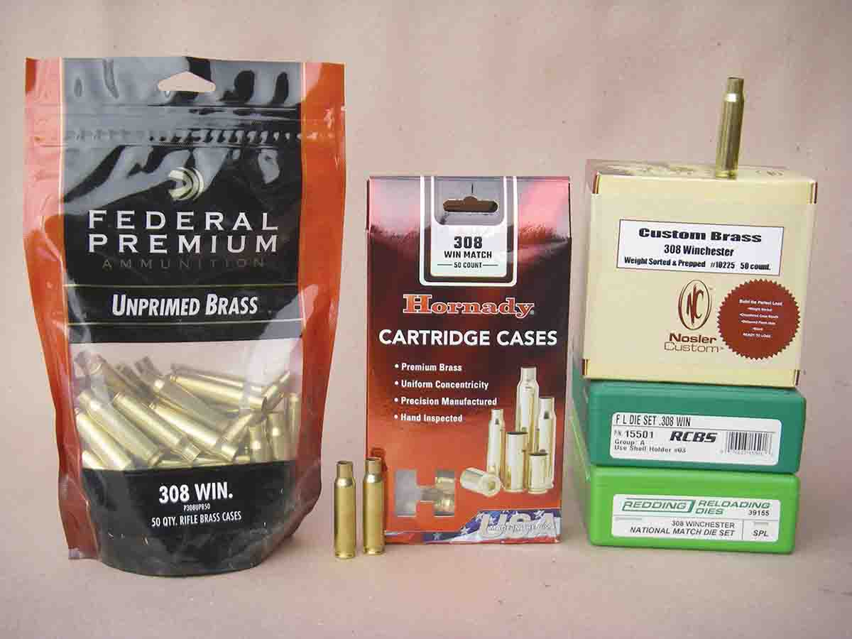 Most ammunition companies offer .308 Winchester cases as a component to handloaders.