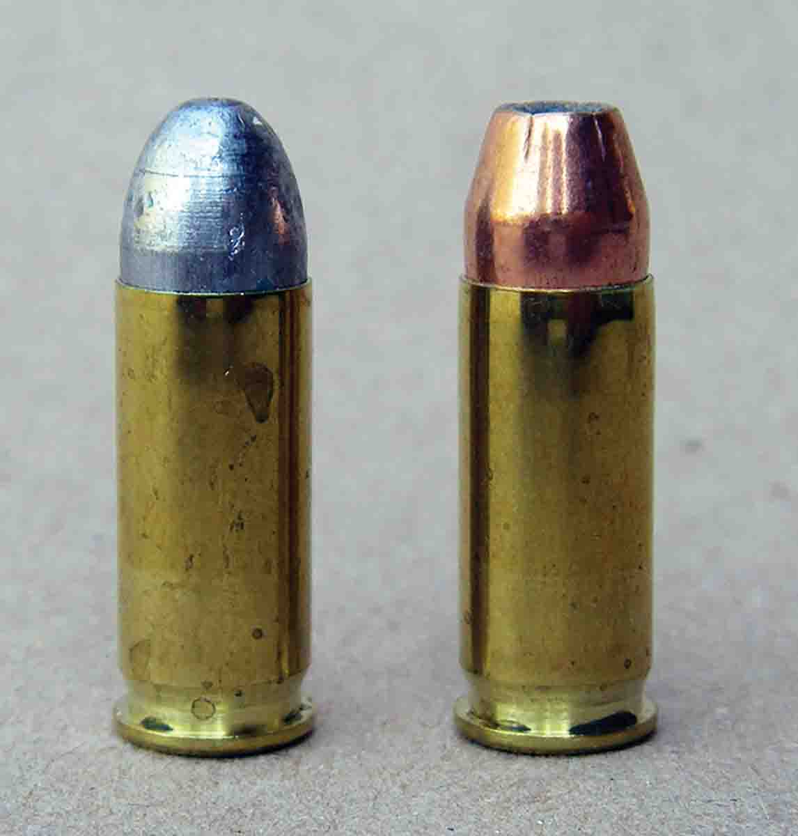 Both cast and jacketed bullets are useful in the .38 Super.