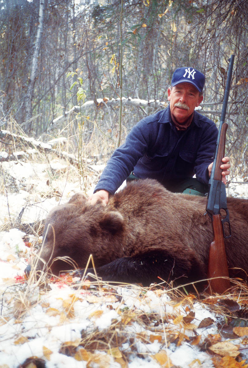 If hunting deer or moose in an area where big bears roam, you need a real bear gun.
