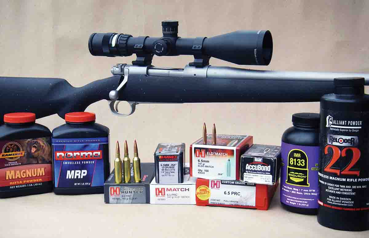 The 6.5 PRC offers a notable performance increase over the 6.5 Creedmoor.
