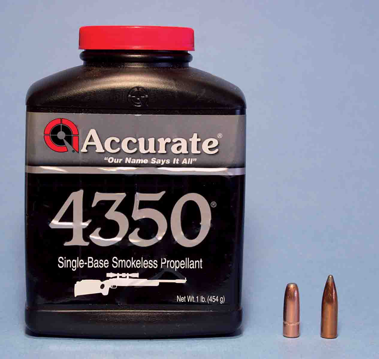 Accurate 4350 was the most consistently accurate powder with 174-and 180-grain bullets.