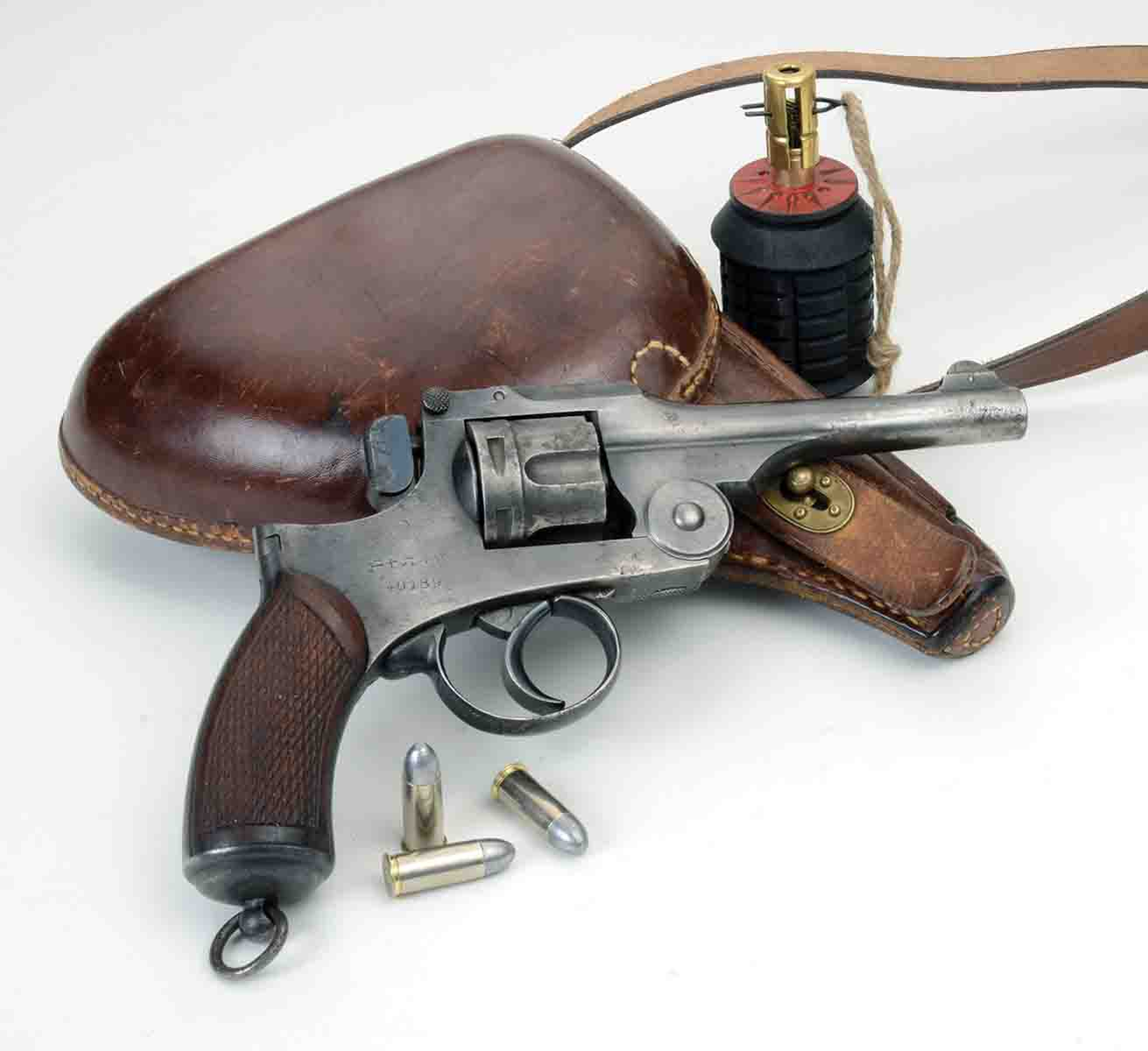 This is a Japanese Type 26 9mm revolver.