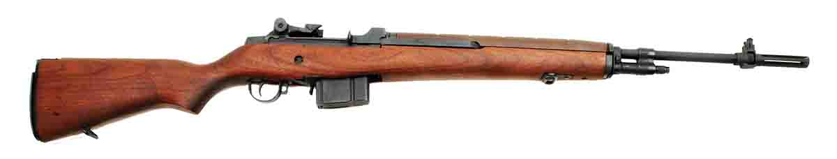 Springfield Armory's M1A is a semiauto civilian version of the select-fire U.S. M14.