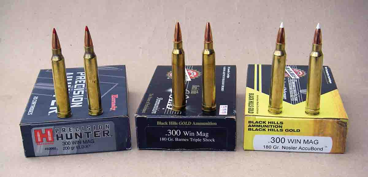 Factory .300 Winchester Magnum ammunition has become much more specialized but also offers notably improved performance when compared to original 1963-vintage loads.
