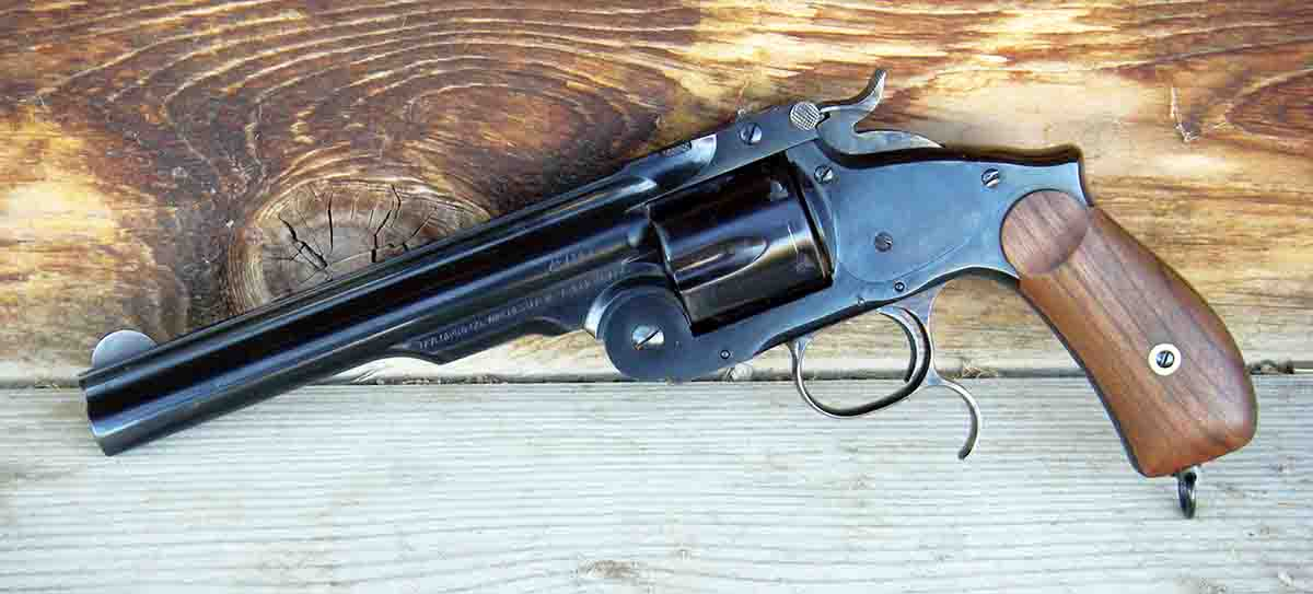 The Uberti Model 3 Russian Third Model is a quality reproduction that can be used with modern smokeless ammunition.