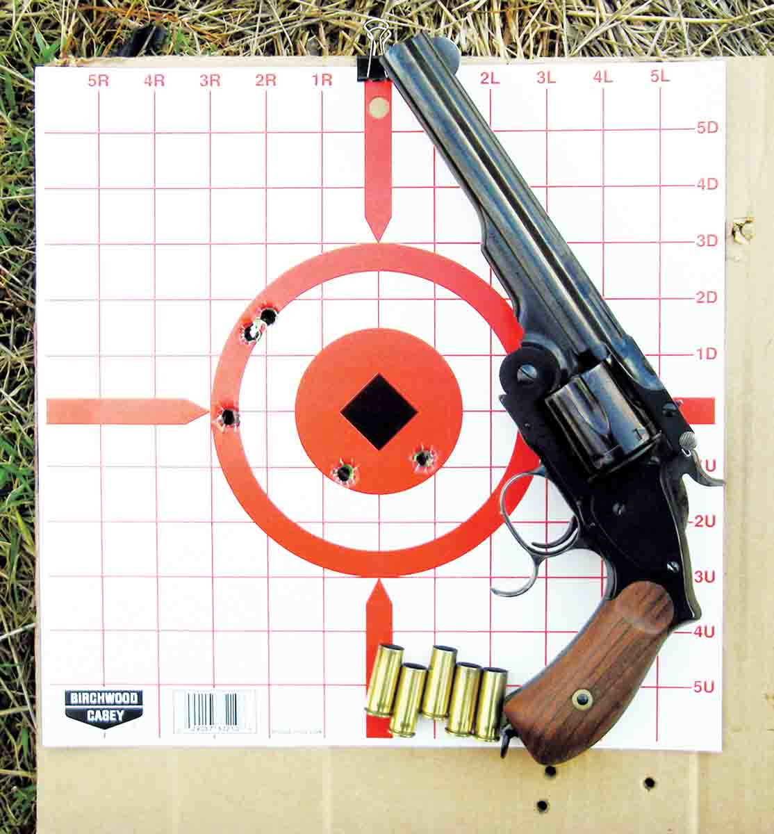 Most factory and handloads produced groups that hovered around 2½ to 4 inches at 25 yards.
