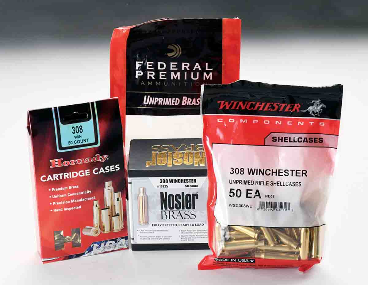 New component brass allows a handloader to assemble recipes without the time, expense and bore erosion of firing factory  ammunition. Nosler brass comes conveniently ready to load with case mouths and flash holes chamfered.