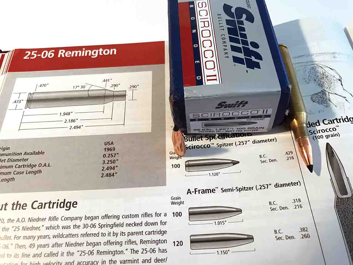 Swift's Reloading Manual Number Two contains plenty of load data for Scirocco bullets.