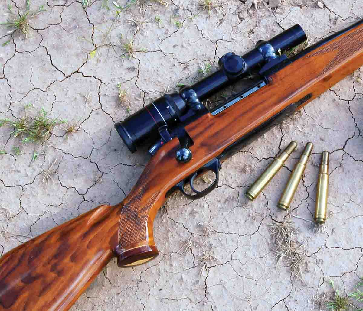 The .416 Weatherby Magnum cartridge was made for large and dangerous game.