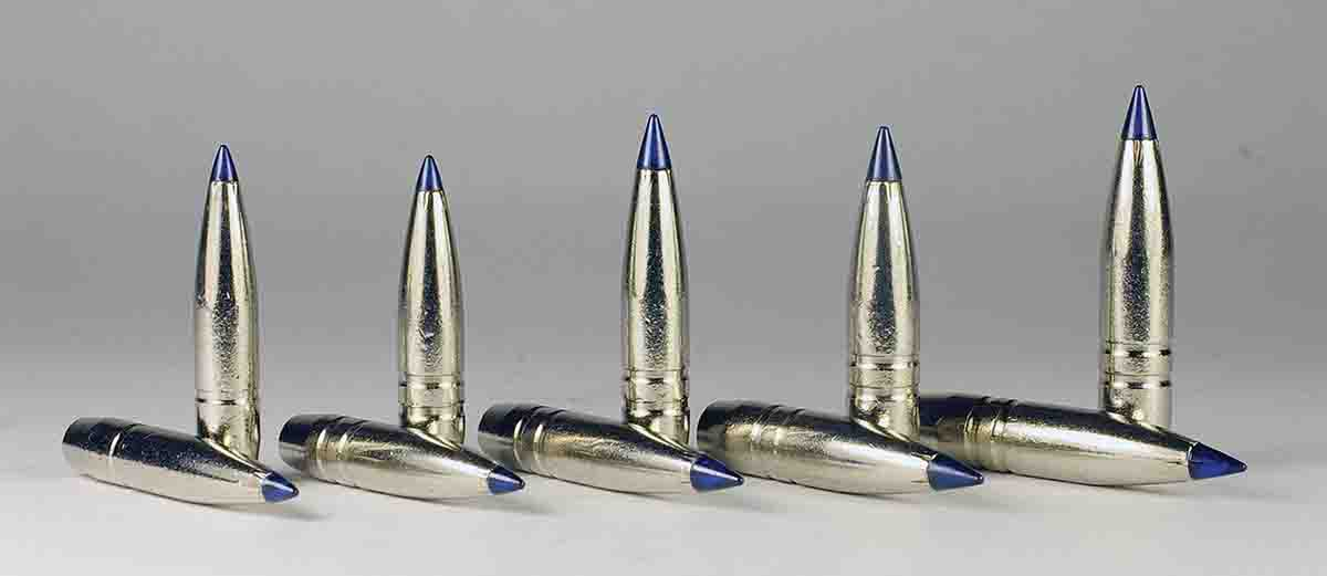 The Terminal Ascent line represent Federal's newest bullets. A bright nickel finish and second AccuChannel differentiate them from Edge TLR bullets.