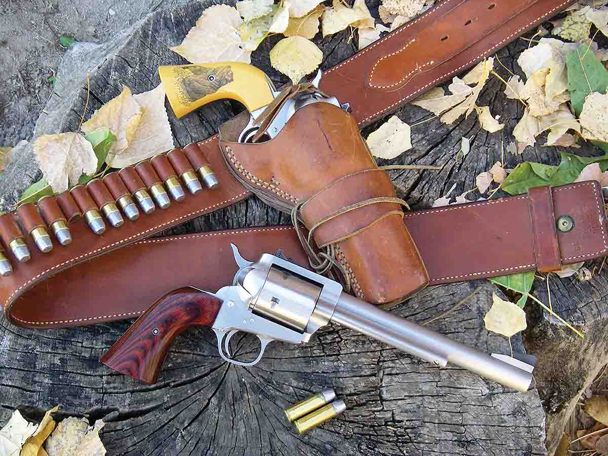 Brian used a vintage Freedom Arms Model 83 .454 Casull with a 7½-inch barrel to develop the loads in Table I.