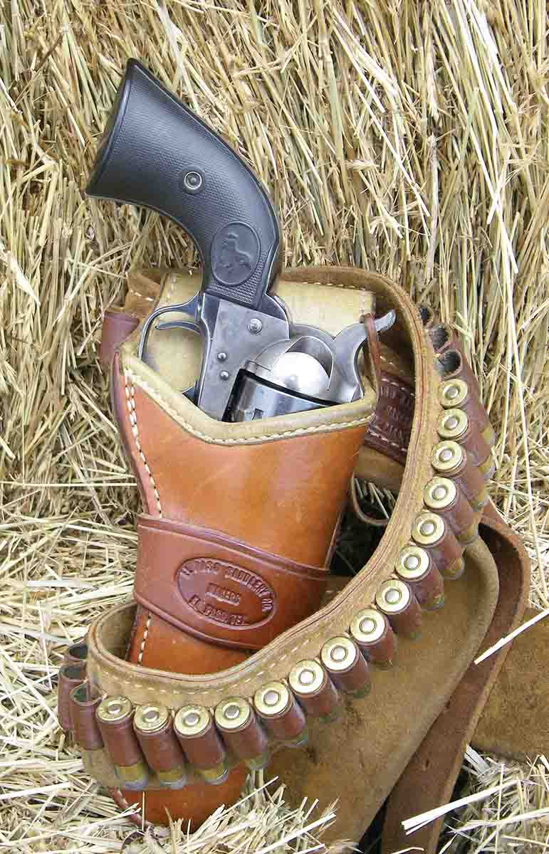 "This El Paso Saddlery ""Duke"" outfit is a practical single-action rig."