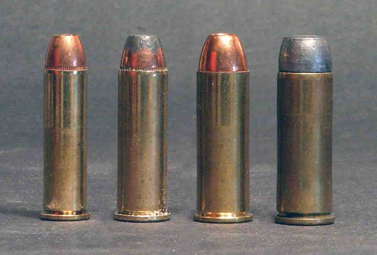 Coincidence? These four revolver rounds have exactly the same case length: .357 Magnum, .41 Magnum, .44 Magnum and .45 Colt.