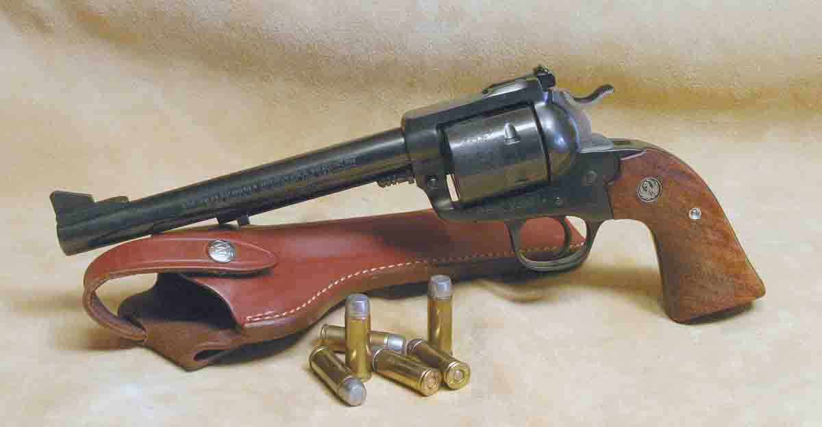 One of the oldest revolver cartridges is still among the most popular. Thanks to modern revolvers like the Ruger Blackhawk Bisley, the old .45 can match the .44 Magnum's ballistics.