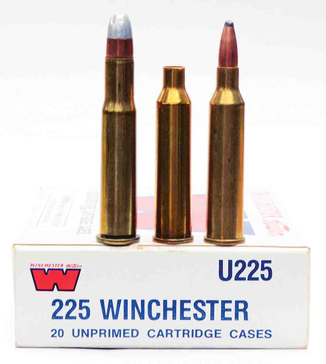 In the absence of factory ammunition and unprimed cases, varmint shooters keep the .225 Winchester alive by forming cases from .30-30 Winchester brass – not an easy task.
