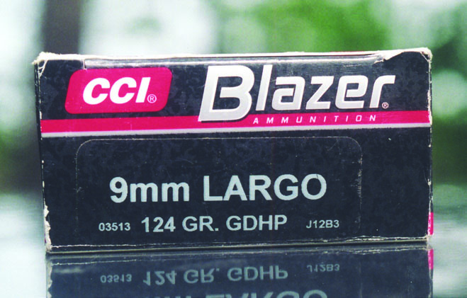 As far as widely distributed factory ammunition, the Blazer load is the whole story. This allows the shooter to test and proof his pistol before proceeding into a loading program.