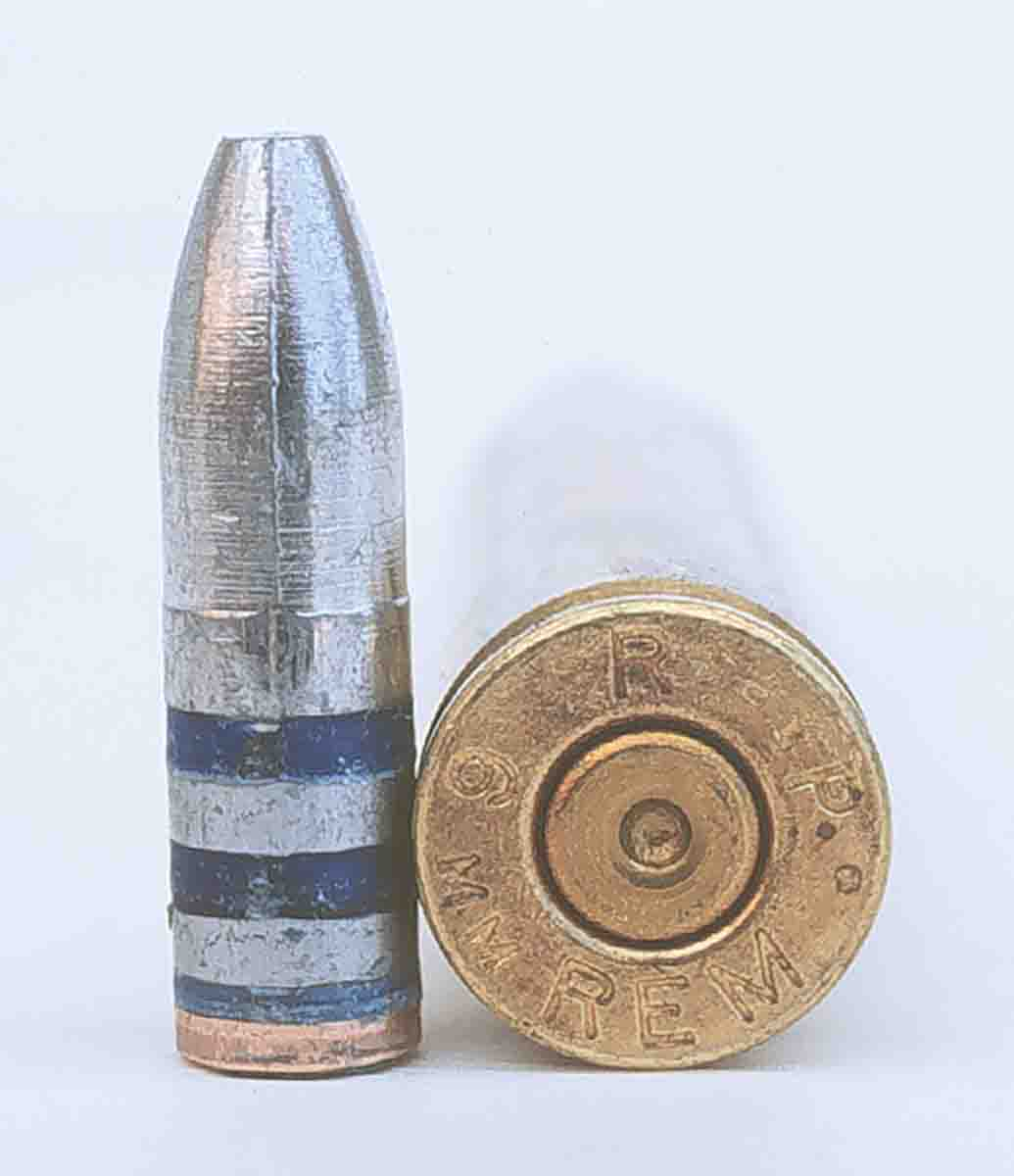 The RCBS 95-grain bullet shot very well from the 6mm Remington. Half the loads grouped under one inch.