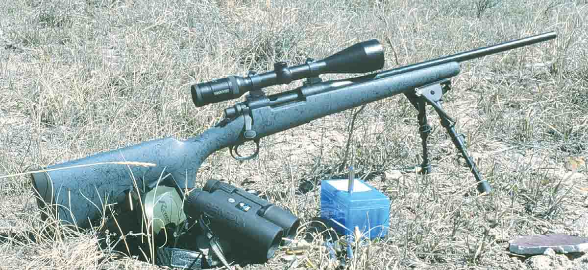 This Remington Model 700 .223 Remington, worked over by Sisk Gunsmithing, makes a great gopher rifle with cast bullets.